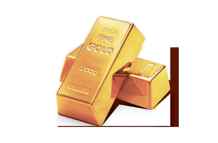 Gold im Wert von 5.000€
