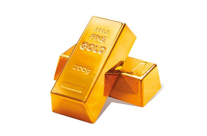 Einen Goldschatz im Wert von 5.000 €