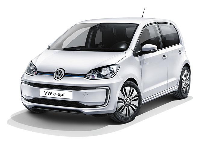 Ein VW e-up! Elektroauto im Wert von 21.000 €